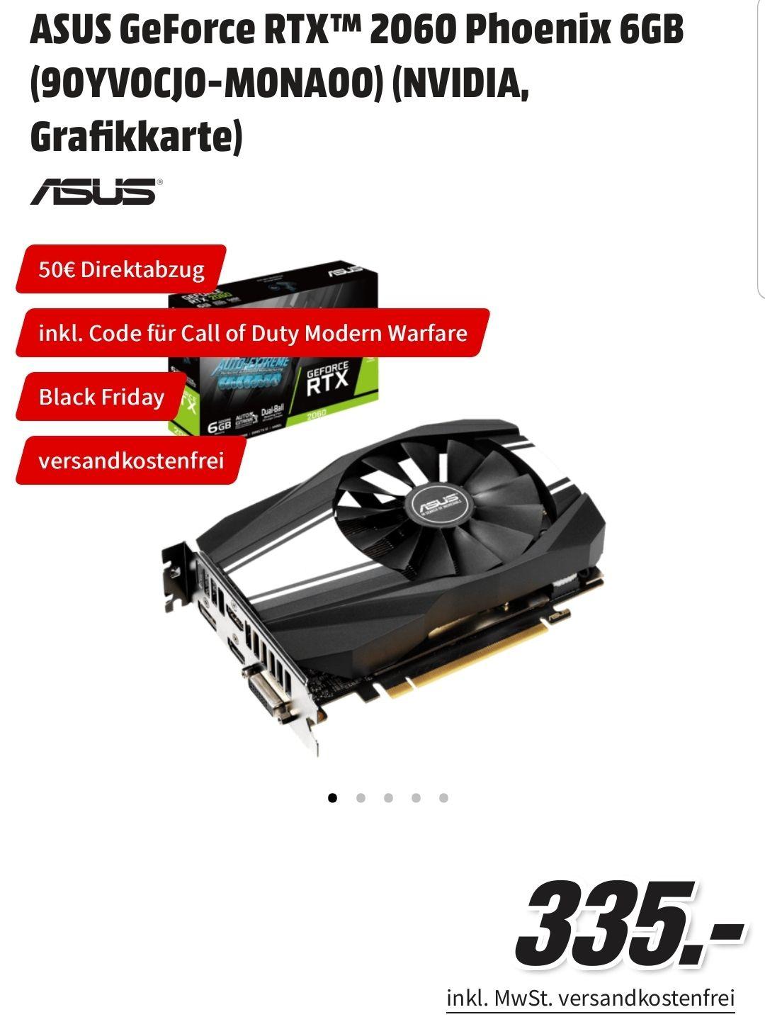 ASUS GeForce RTX 2060 Phoenix 6GB (Paydirekt)