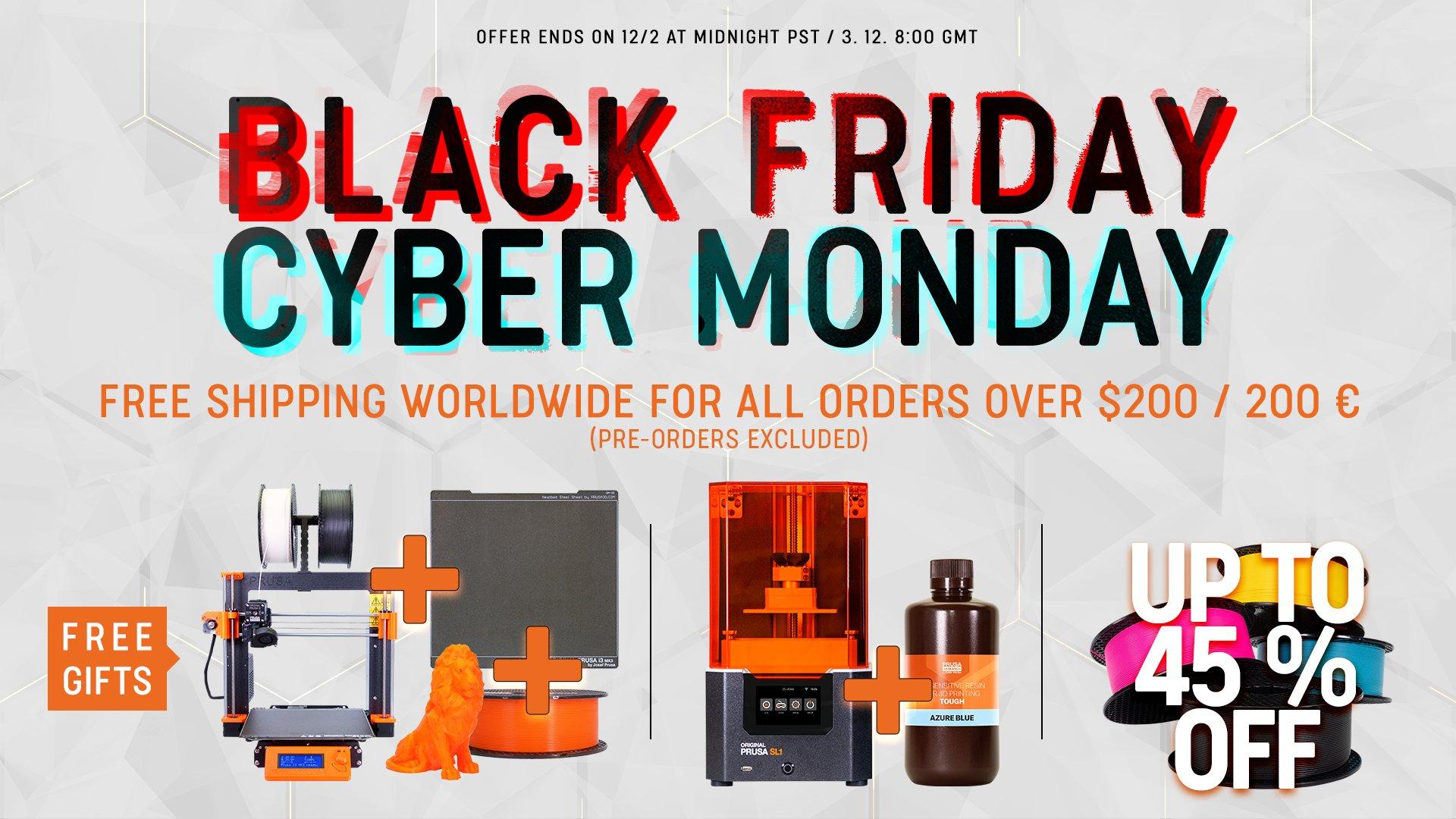 Prusa 3D Drucker Filament Deals (bis zu 45% reduziert)