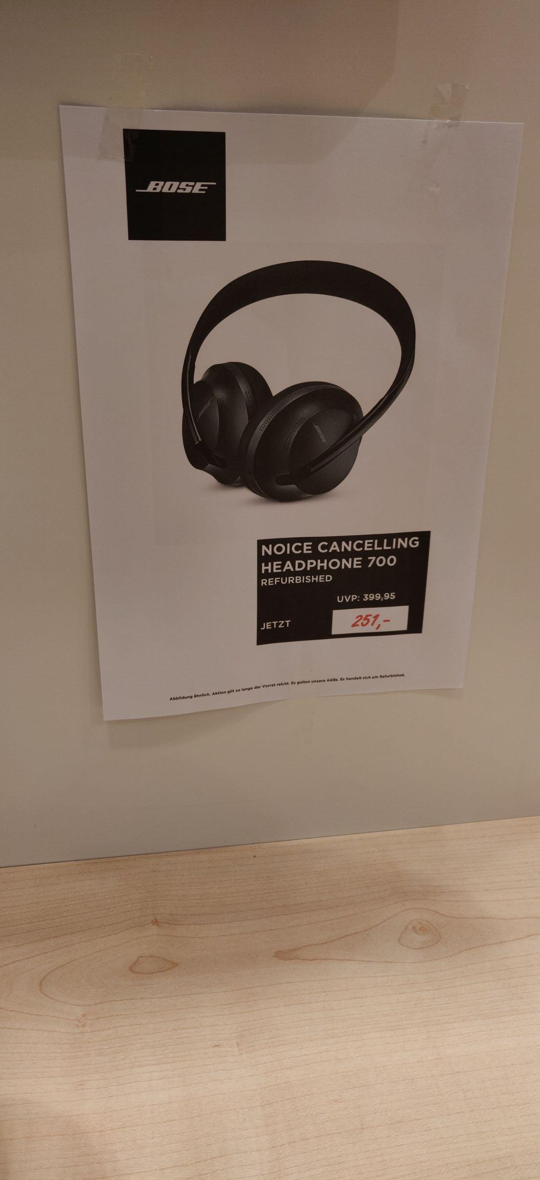 (REFURBISHED) Bose noise cancelling headphones 700