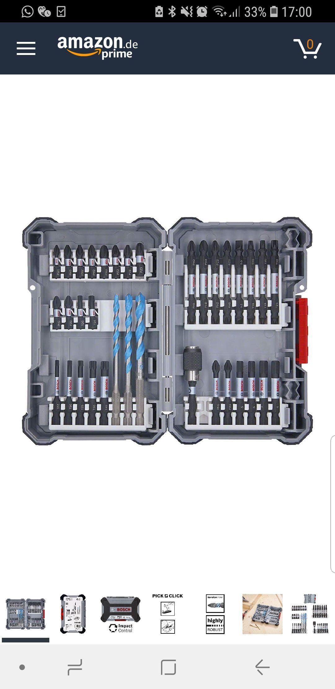 Bosch professional Schlagschrauber Bitset ( Amazon Frankreich)