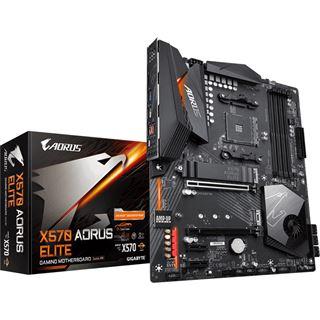 Gigabyte X570 Aorus Elite AMD X570 + VSK (4,95€ oder nach Mitternacht versandkostenfrei)