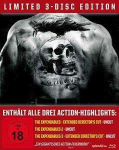 The Expendables Trilogie Limited Steelbook Edition (Blu-ray) für 10,39€ (Müller)