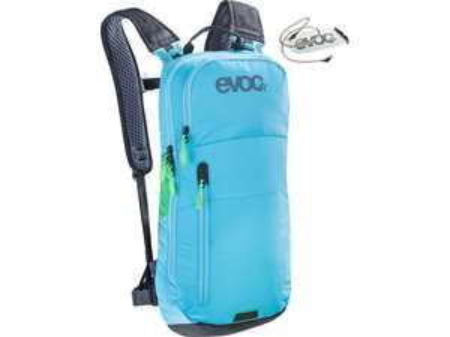 MTB EVOC CC Backpack 6 L + Trinkblase 2 L neon blue - 2018