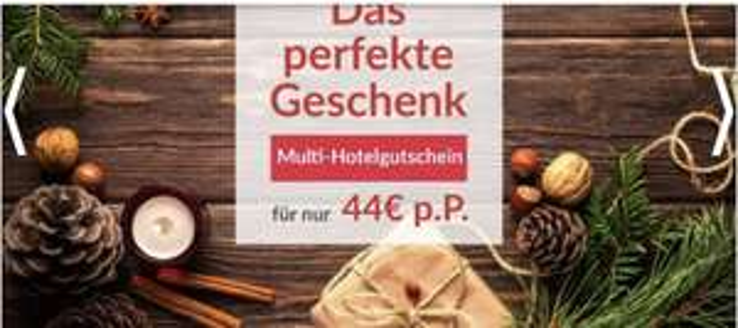 Multi-Hotelgutschein für nur 44€ p.P. + 20€ Mietwagengutschein ohne Mindestbestellwert