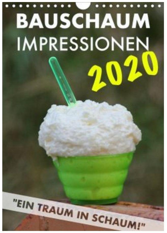 Bauschaum Kalender 2020 A4 für 15,19€ (14,39€ mit Newslettergutschein) + 120 Paybackpunkte