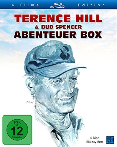 Terence Hill & Bud Spencer - Abenteuer Box (4-Filme Set Blu-ray) für 15,99€ (Amazon Prime)