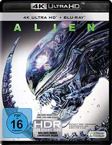 Alien 4K 40th Anniversary Edition (4K UHD + Blu-ray) für 13,99€ versandkostenfrei (Amazon Prime & Media Markt)