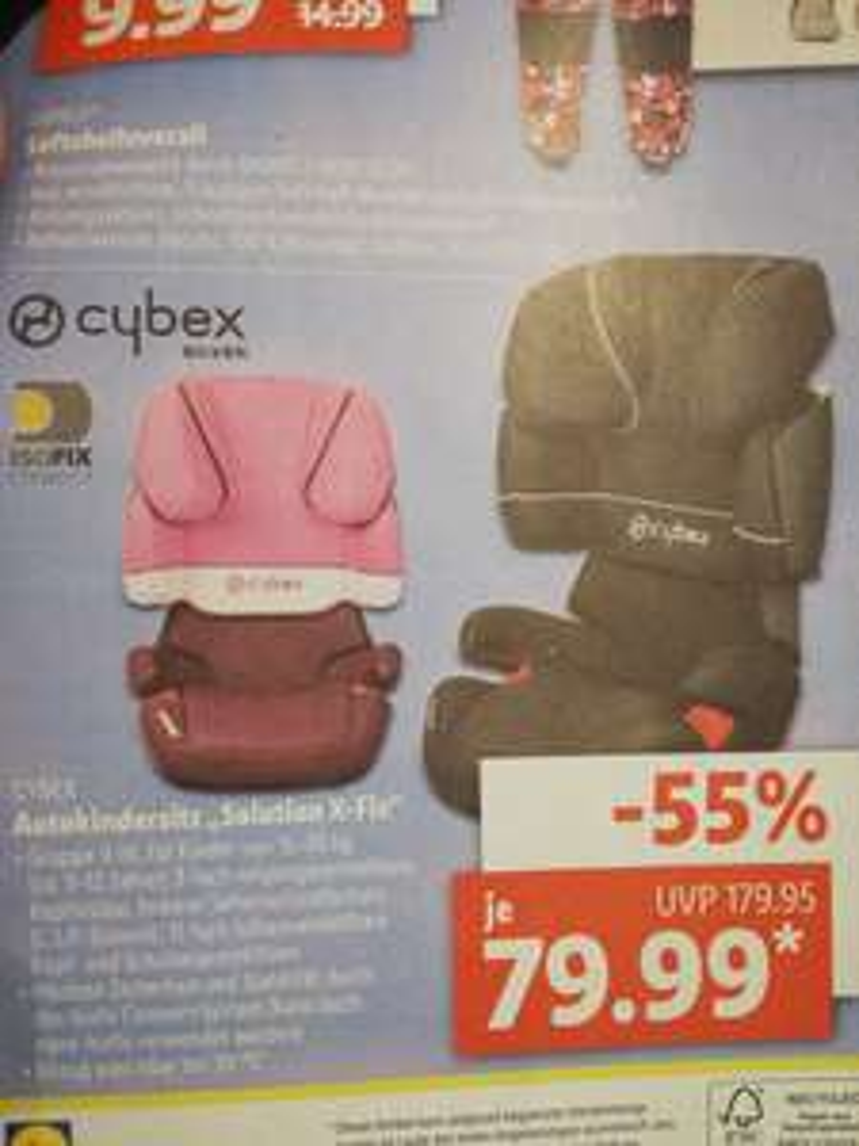 Cybex Solution X-Fix 79,99€