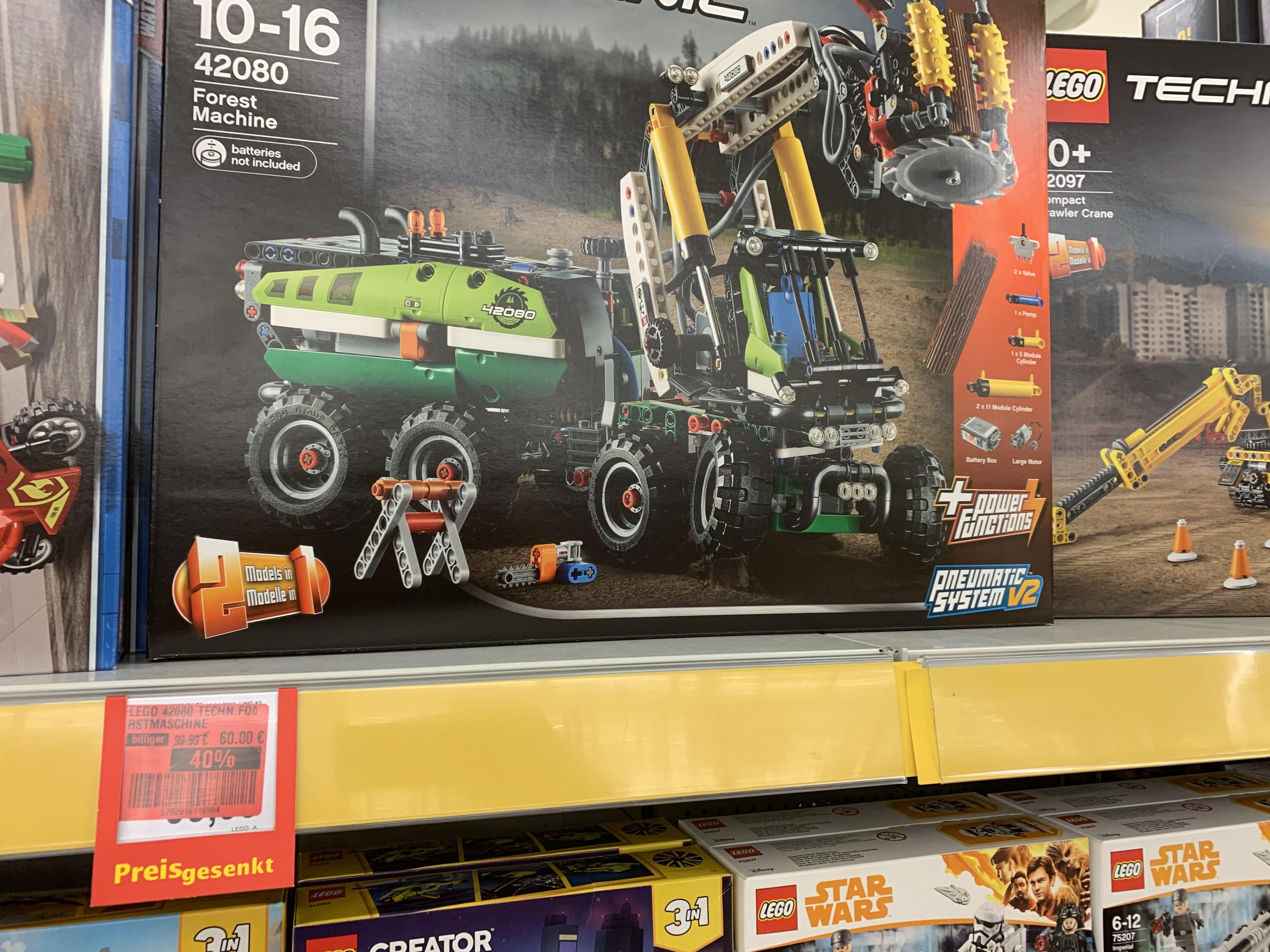(Lokal Bielefeld) Lego Harvester 42080