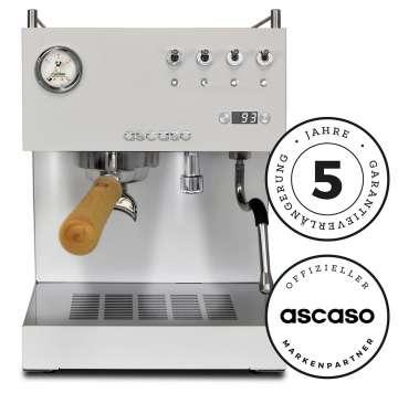 Ascaso Steel Duo PID (weiß) Espressomaschine (Thermoblock)