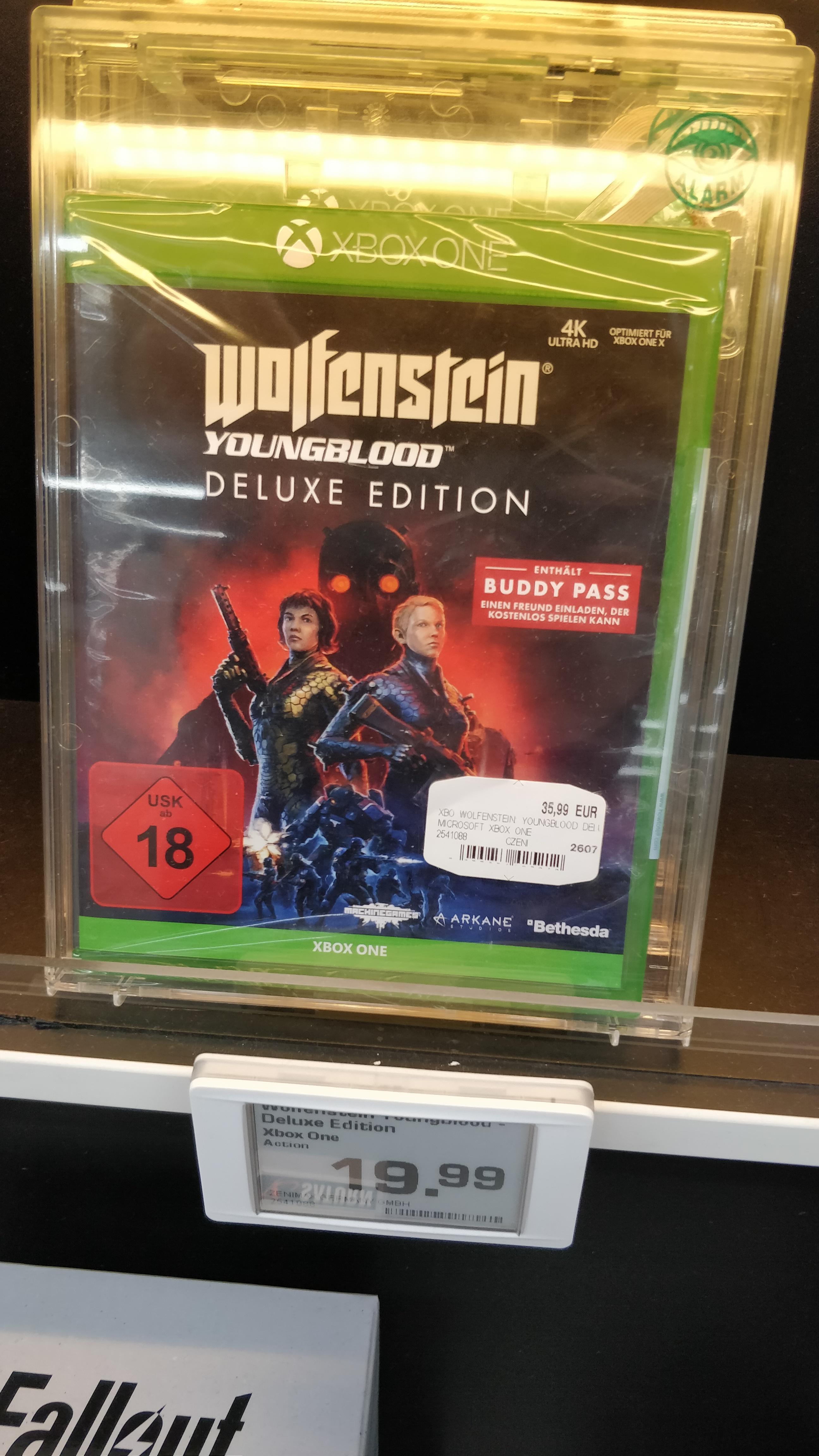 [lokal Saturn München Stachus] Wolfenstein Youngblood Deluxe Edition Xbox One