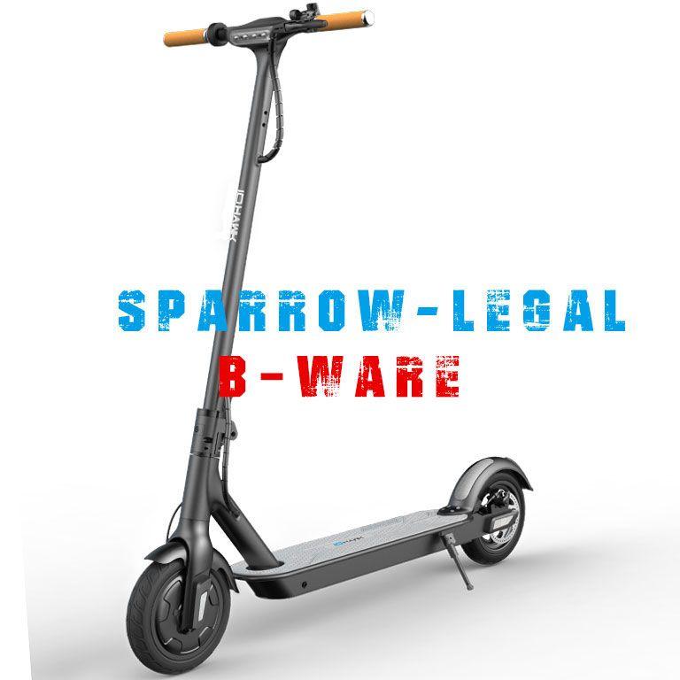 Io Hawk Sparrow E-Scooter legal B-Ware