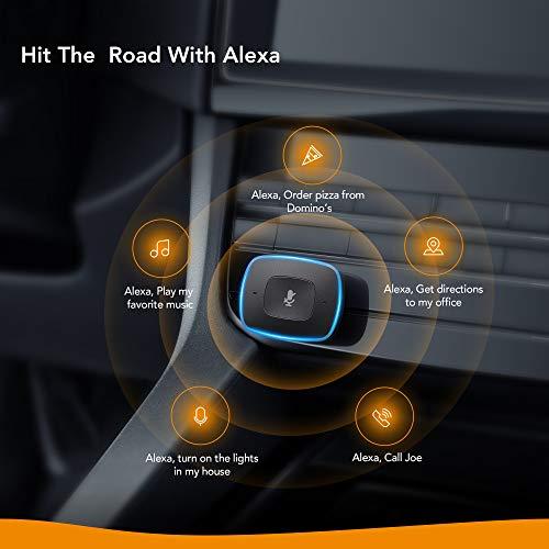 Roav VIVA von Anker, Alexa-fähiges 2-Port USB-Autoladegerät für GPS, freihändiges Telefonieren & Musikwiedergabe, für Android & iPhones