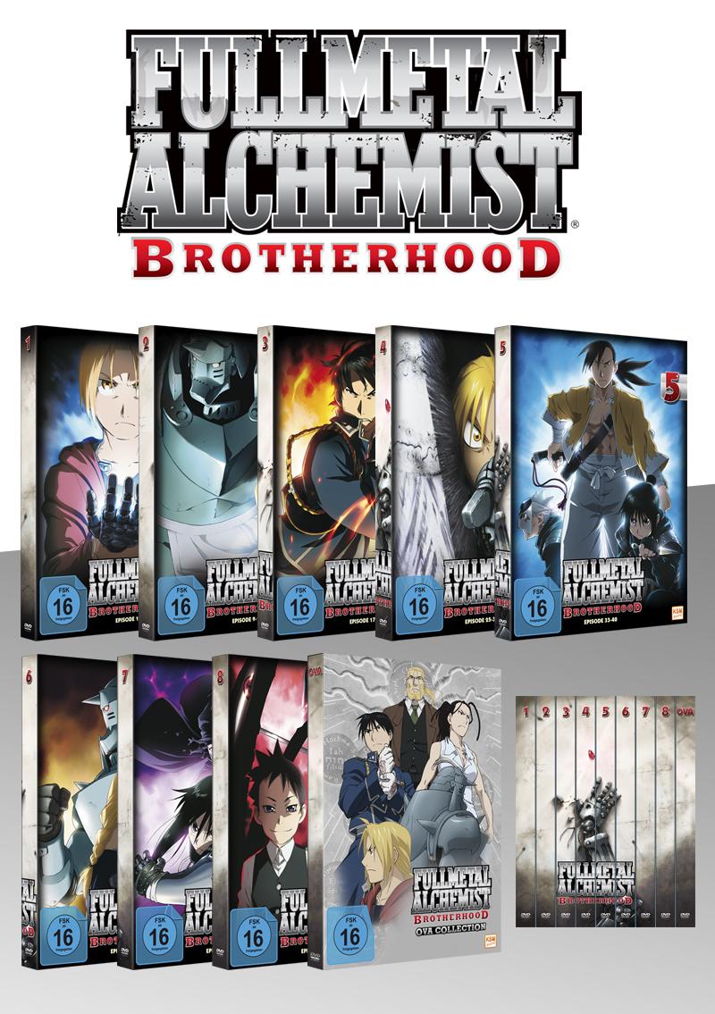 [anime-planet.de] Fullmetal Alchemist: Brotherhood Fan Edition (komplette Serie inkl. OVA auf DVD)