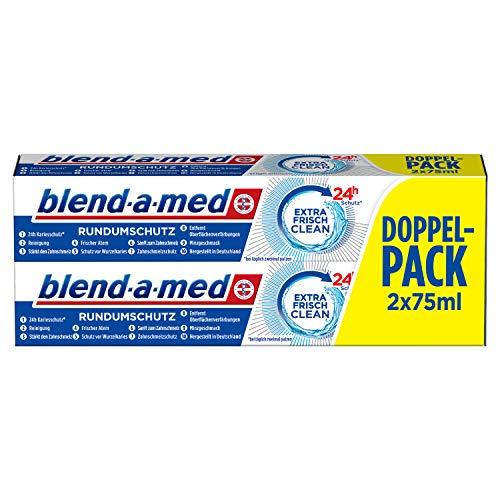 Blend a med Rundumschutz Extra Frisch Clean Zahnpasta 8 Tuben im Sparabo