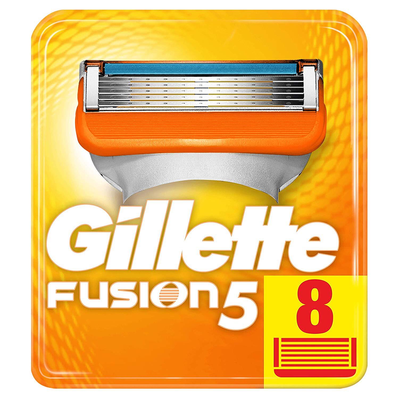 Gillette Fusion5 8er Pack für 8.04€ (stk für ca 1€) und dann für 9.34€ (stk für 1.17€) Amazon Prime