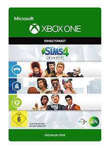 Xbox One - Die Sims 4 Bundle: The City Living expansion pack, Vampires Game Pack and The Vintage Glamour Stuff Pack. DLC
