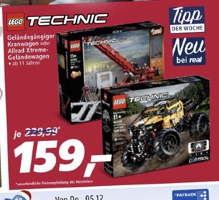Lego Technik 42082 Kranwagen [REAL]