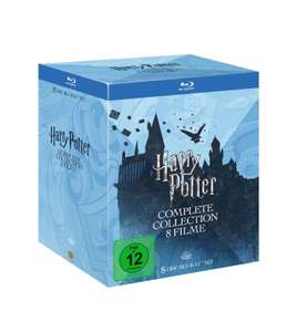 Harry Potter Complete Collection Blu-Ray Set [bei Versand + 3,99€]