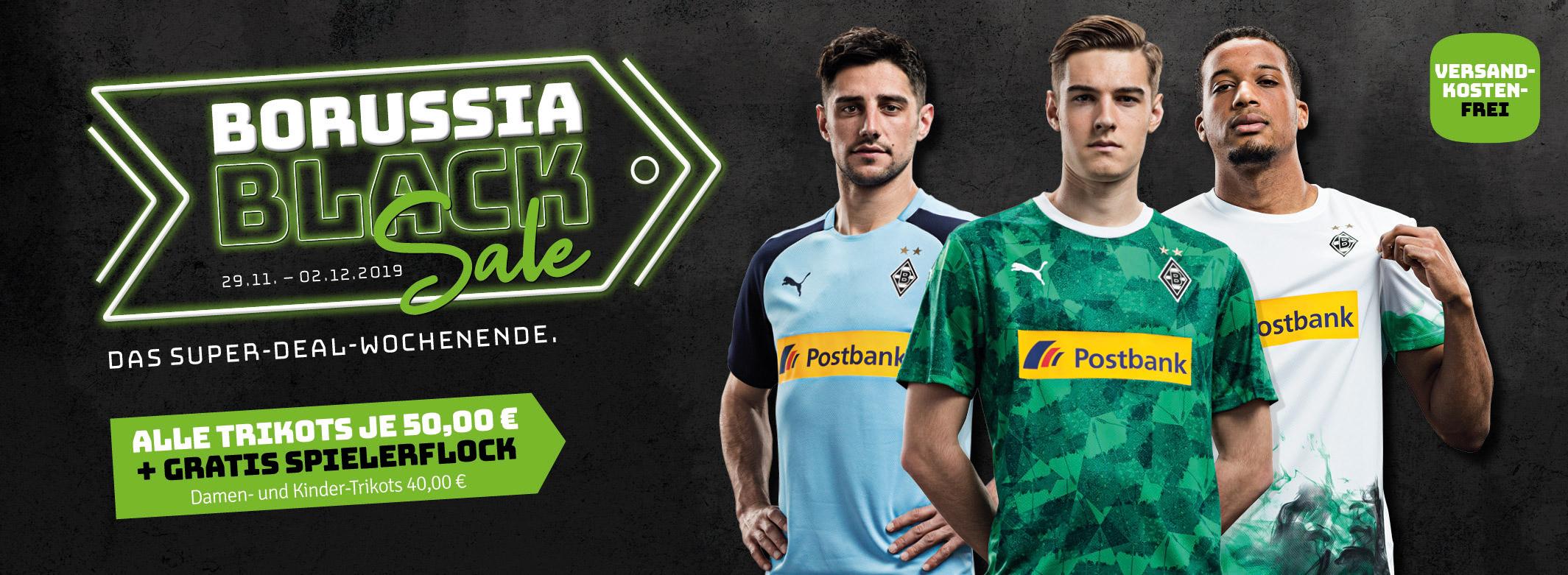 Borussia Mönchengladbach PUMA Trikot mit Spielerflock 50,00€ statt 84,95€