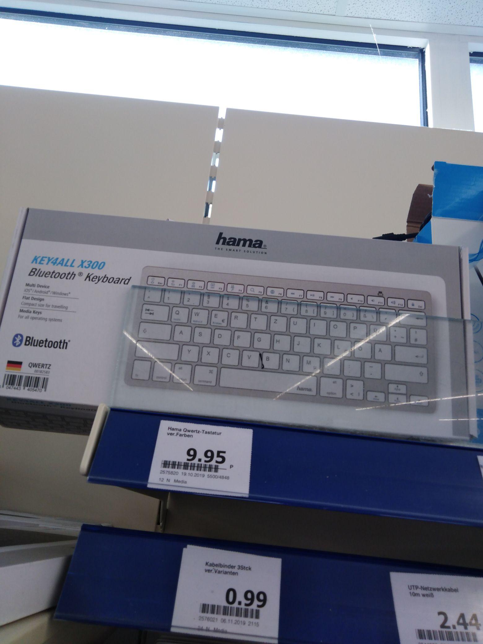 Hama Bluetooth Tastatur Key4All X300