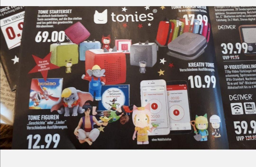 Toniebox Starterset bei Marktkauf
