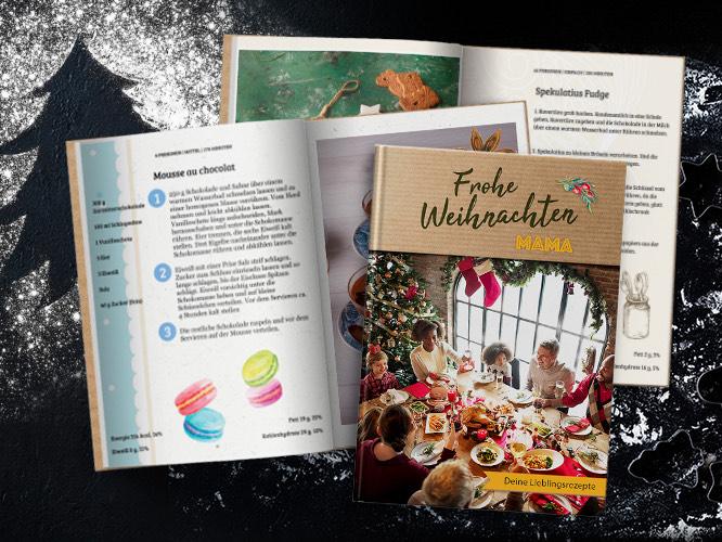 Rewe Foto personalisierbares Kochbuch -50% + 6,90 Versand