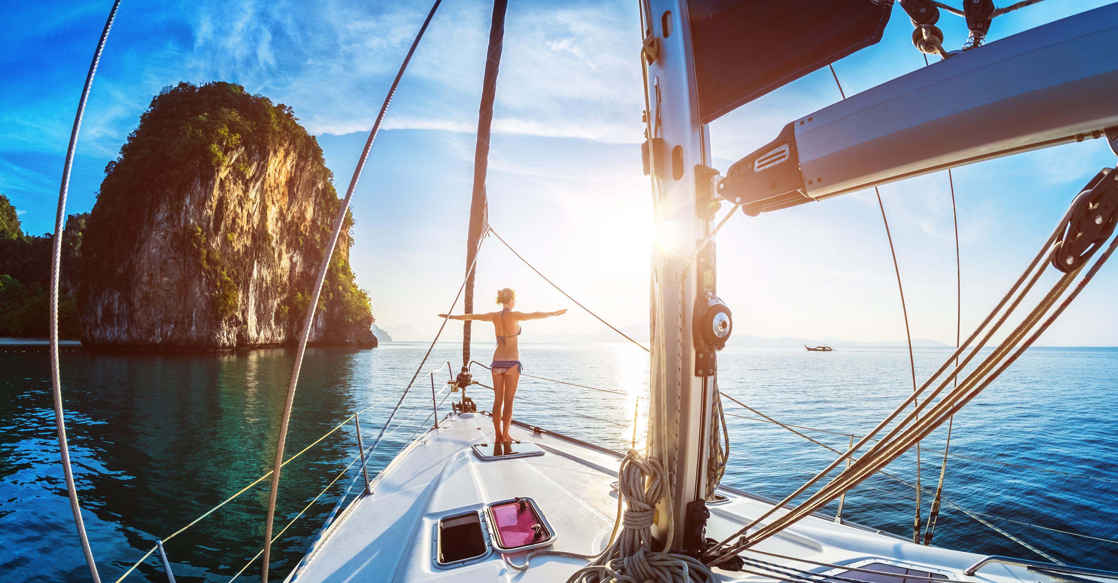 Pink Saturday bei 4 seasons yachting - 25 % Rabatt auf Buchungen in Kroatien, Griechenland und den Kanaren