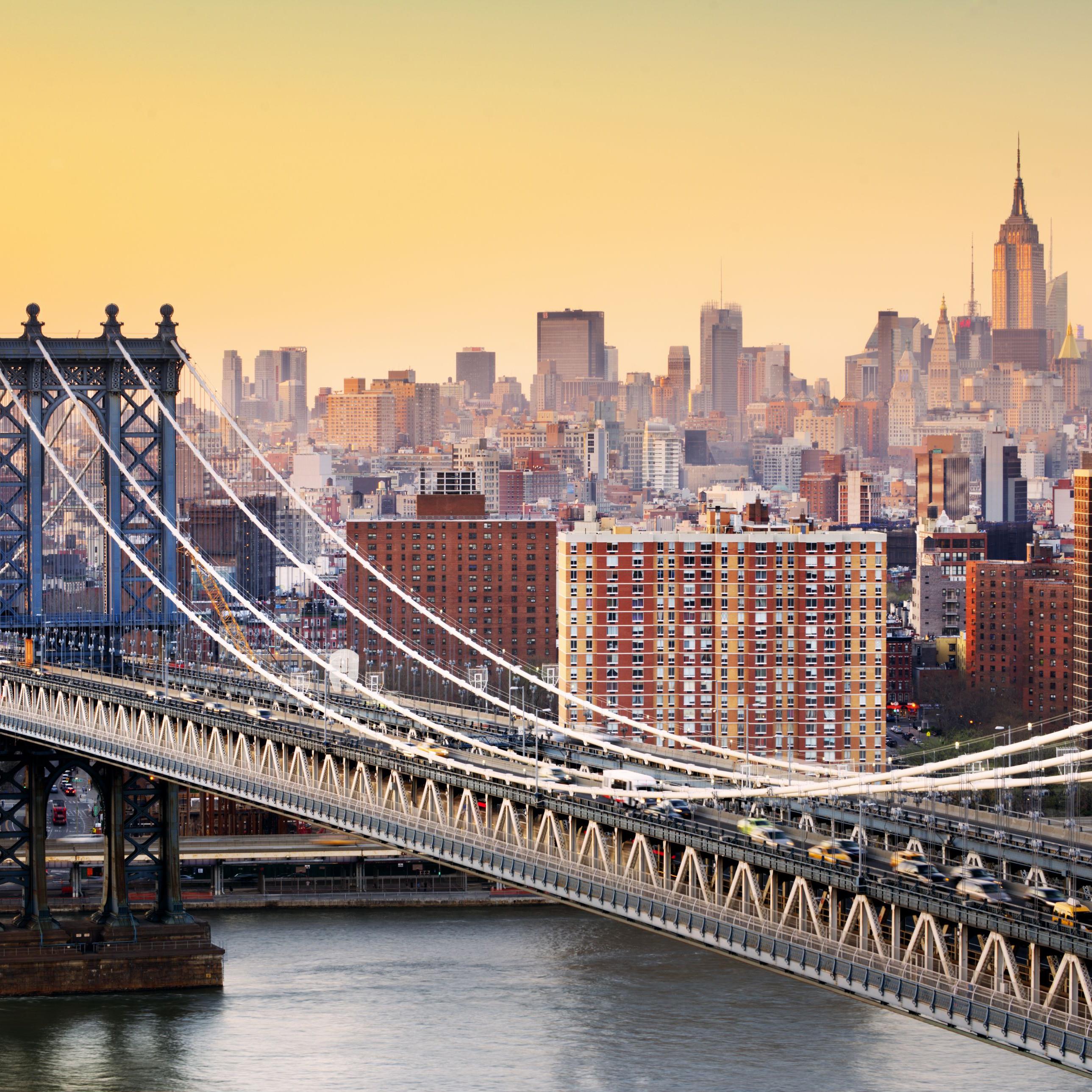 Flüge USA / New York Hin und Rückflug von Amsterdam (Januar - März) ab 208€