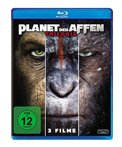 Planet der Affen Trilogie (3-Filme Set Blu-ray) für 12,99€ (Amazon Prime & Media Markt)