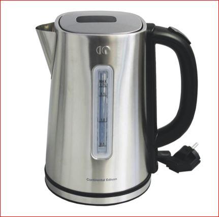 Edelstahl-Wasserkocher (1,7 Liter, 2200 Watt) zum halben Preis [Zimmerman]
