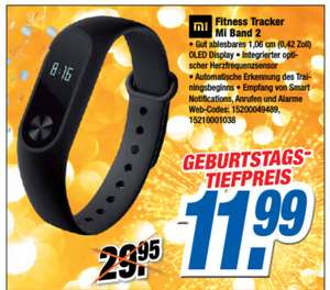 [lokal Experts] Xiaomi Mi Band 2 für 11,99