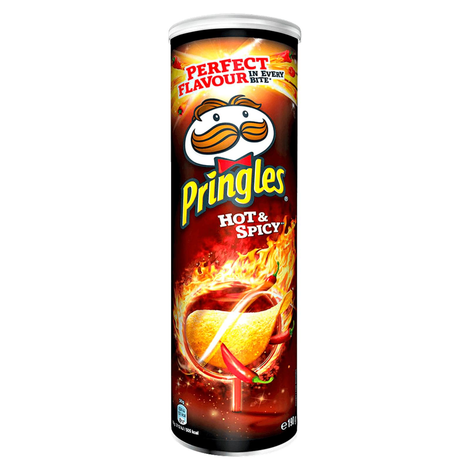 verschiedene Sorten Pringles im Sechserpack bei Amazon