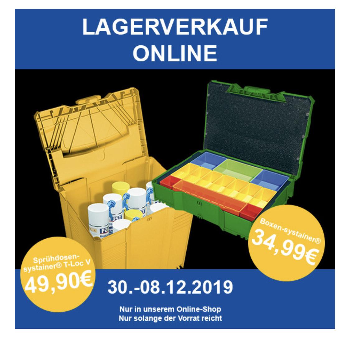 Tanos Systainer Lagerverkauf online