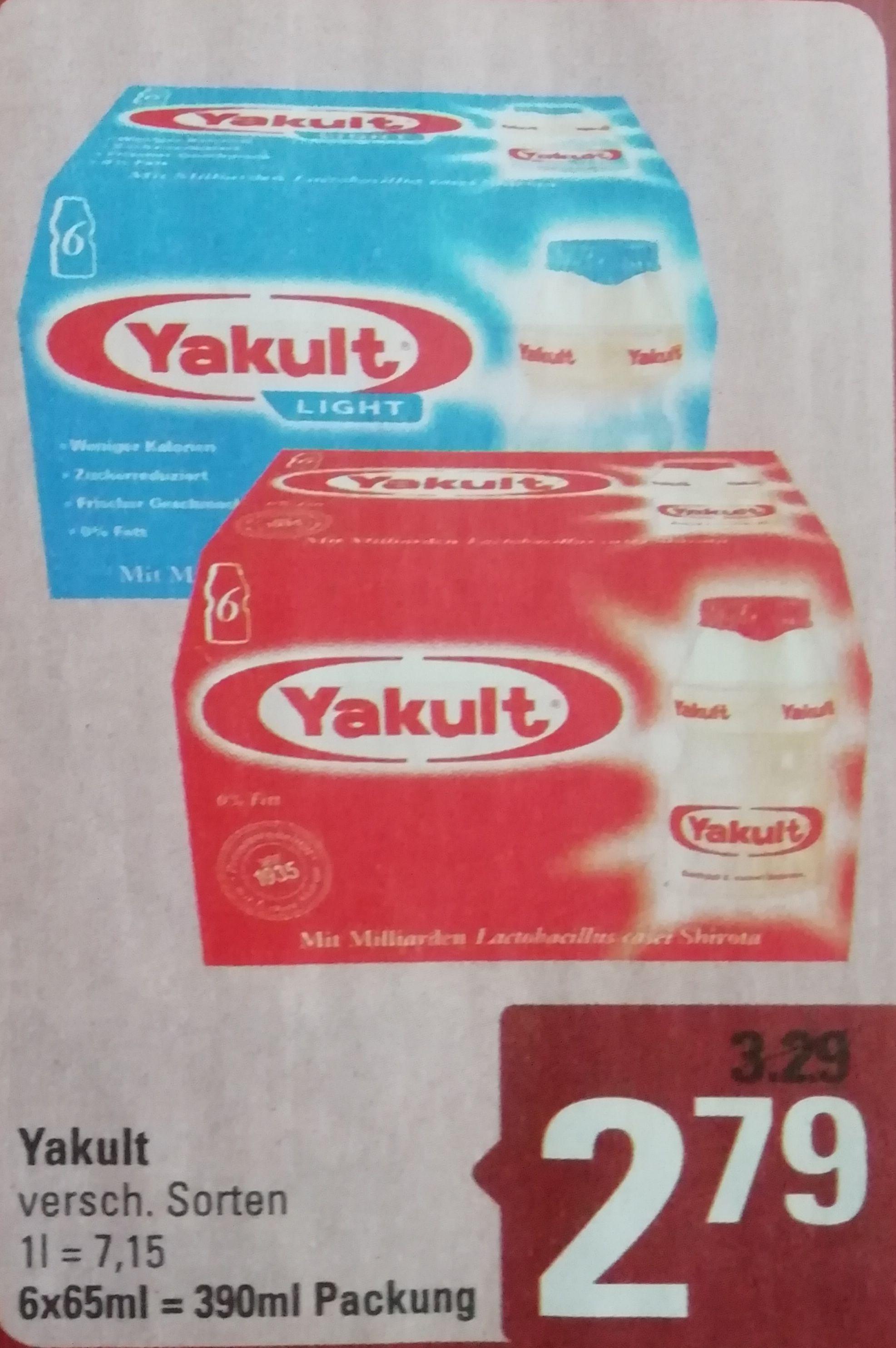 [Marktkauf Minden-Hannover ab 2.12] Yakult Original oder Plus dank Coupon 1,79 Euro