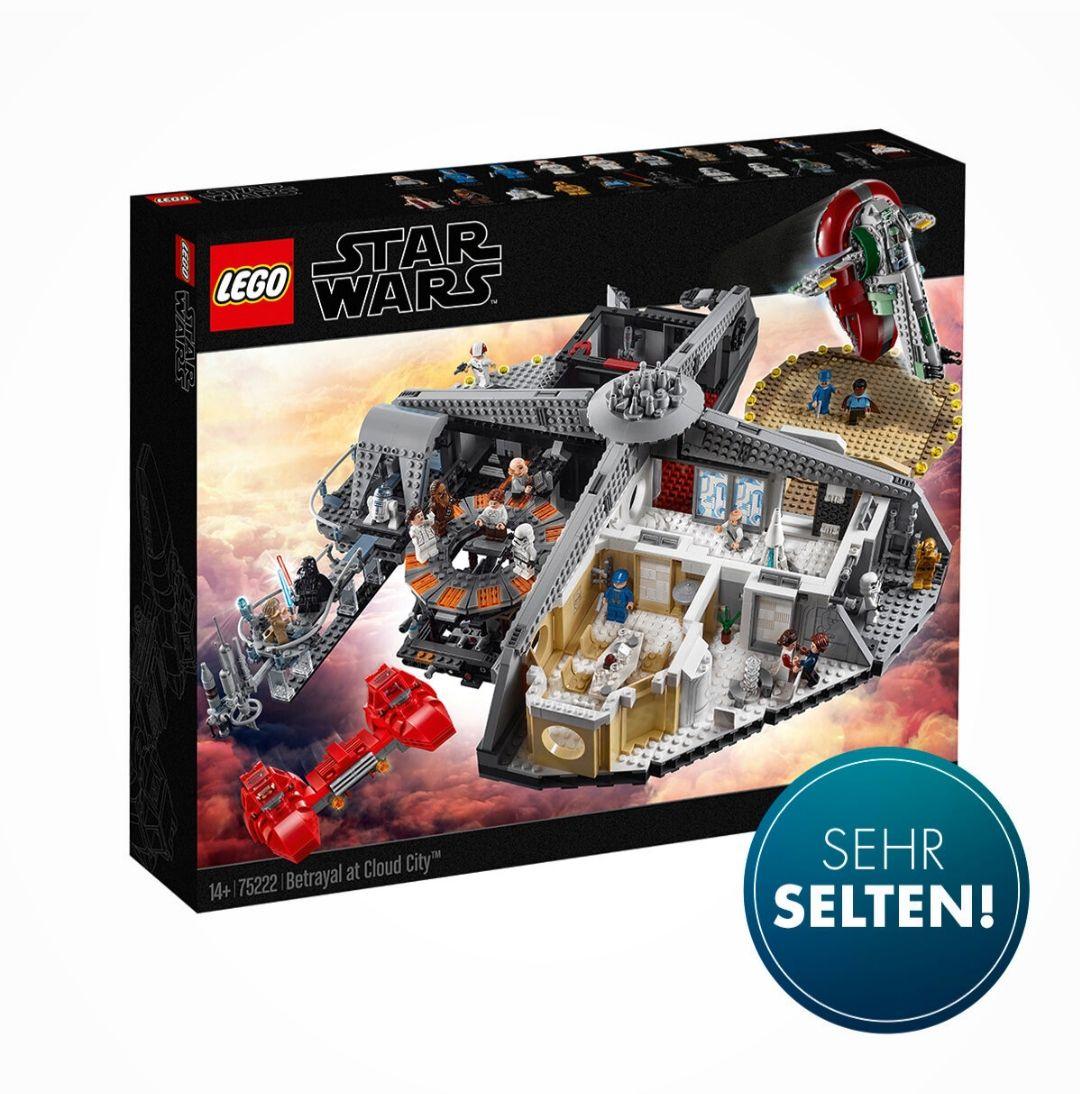 Galeria Kaufhof: Lego Star Wars 75222 Verrat in Cloud City für 254,99€