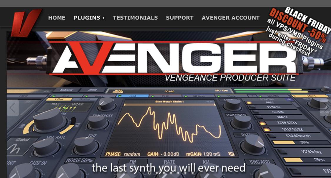 VPS Avenger - einer der besten Synths