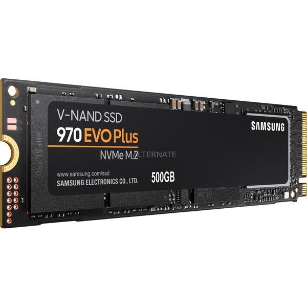 Samsung MZ-V7S500BW Interne NVMe/PCIe M.2 SSD 500 GB 970 EVO Plus Retail PCIe 3.0 x4