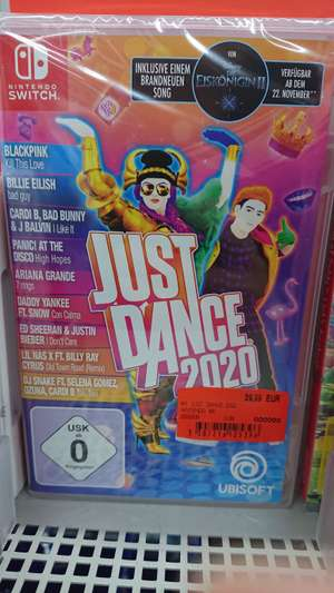 Just dance 2020 Nintendo switch. Media Markt bad dürrheim