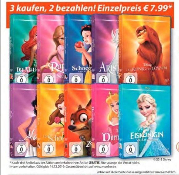 Disney Classics DVD 3für2 ab 2.12