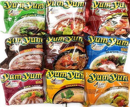 YumYum verschiedene Sorten nur 0,33€ pro Packung