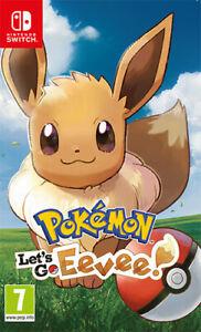 [Ebay] Pokemon Lets go Evoli für Nintendo Switch (IT Import)