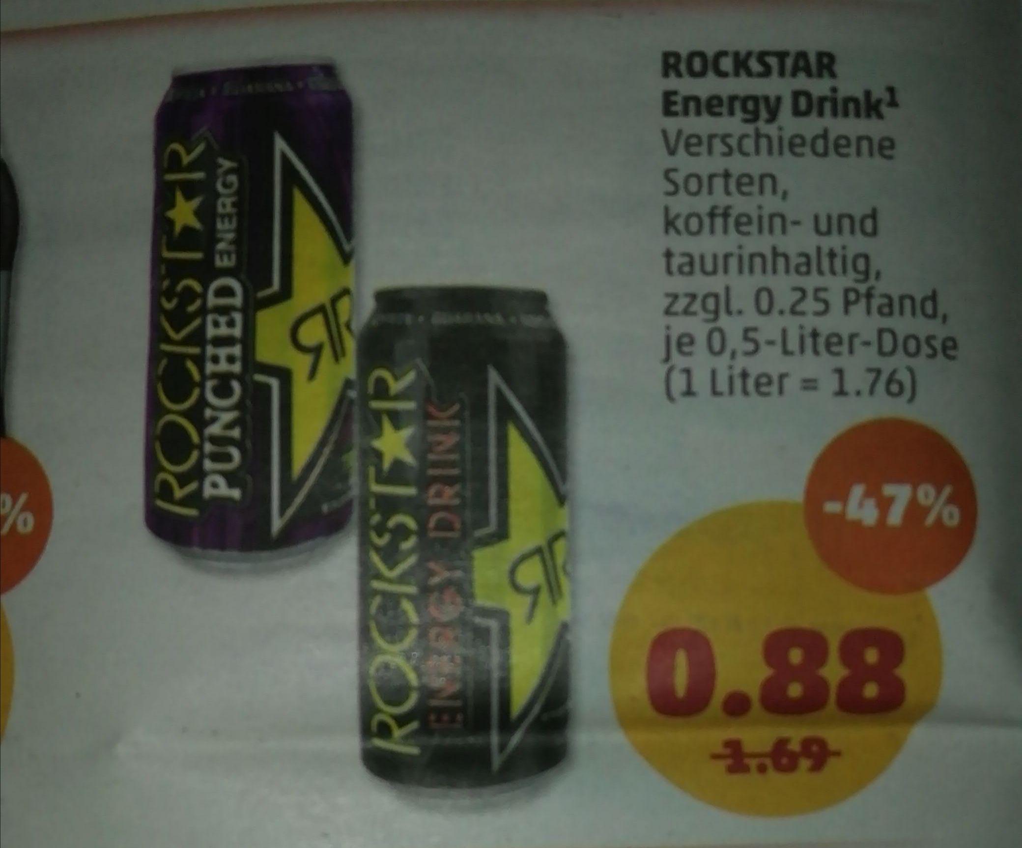 [Penny ab dem 2.12] Rockstar Energy für 88 Cent Verschiedene Sorten
