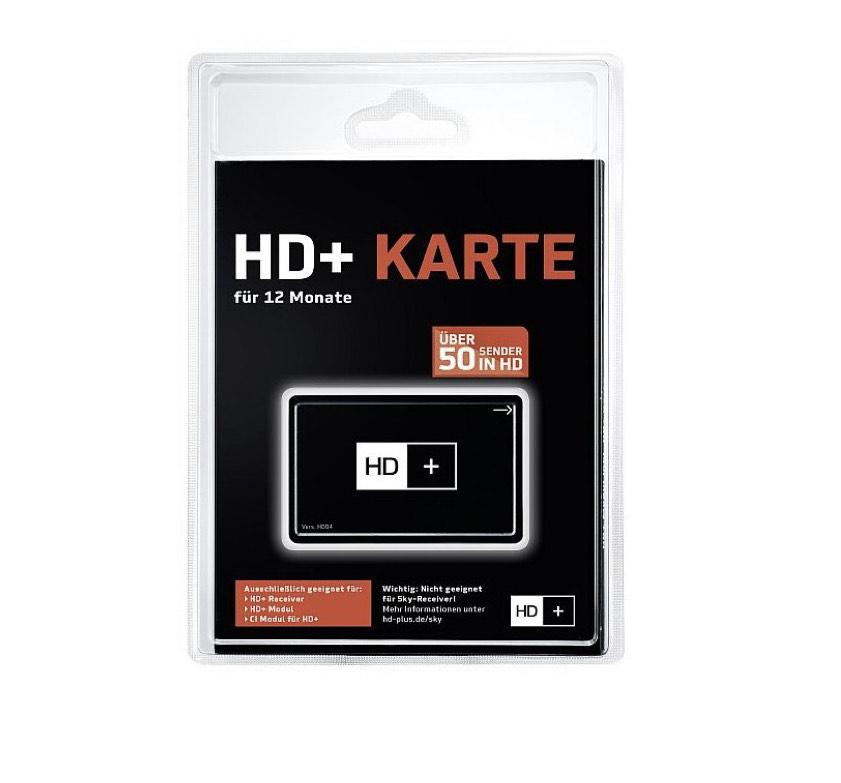 HD+ Plus Karte für 12 Monate [Check24 10€ App Gutschein]
