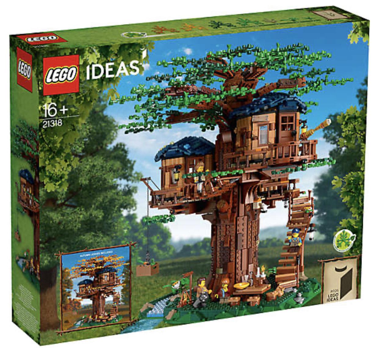[Paydirekt] Lego 21318 Ideas: Baumhaus für 162€ + 6% Casback (152,87€ mit Shoop)
