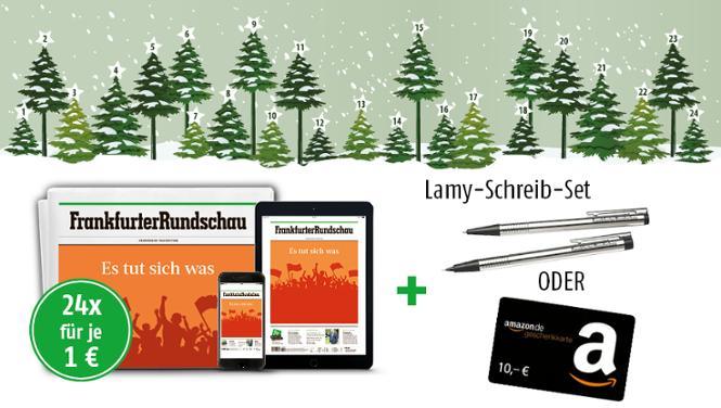 24 Ausgaben der Frankfurter Rundschau