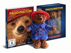 Paddington: Plüsch-Edition mit Original-Heunec Teddybär (DVD) für 11,97€ (Amazon Prime)