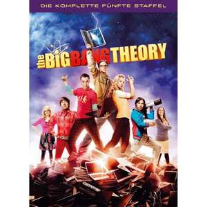 The Big Bang Theory - Die komplette fünfte Staffel [3 DVDs] @amazon