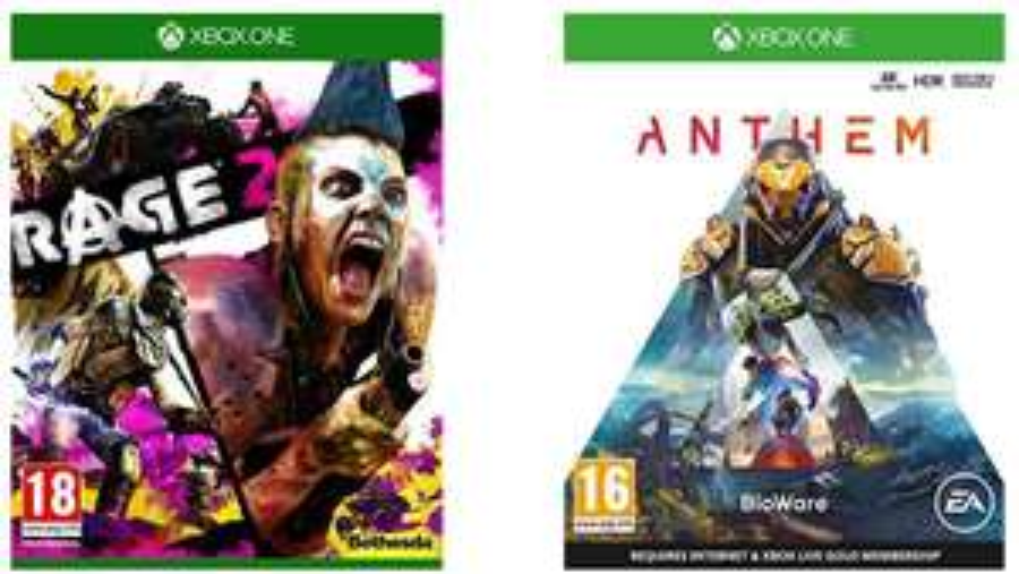 Rage 2 + Anthem (Xbox One) für ca. 15,85€ (Amazon UK)