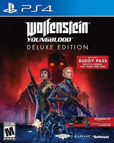 Wolfenstein: Youngblood - Deluxe Edition (PS4) inkl. Bonus Skin (Amazon US)